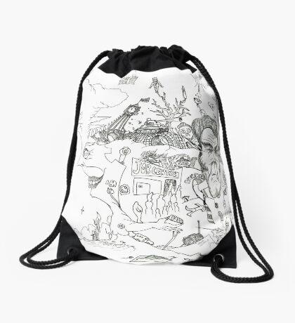 Pieces of Eight [ies]! Drawstring Bag