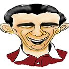 Jimmy Wardhaugh Cartoon Caricature by Grant Wilson