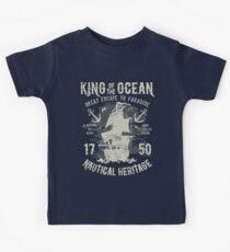 King of the Ocean Kids Tee