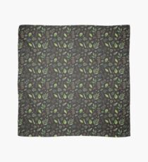 herbal with dark background Scarf