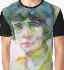 KATHERINE MANSFIELD - watercolor portrait.4 Graphic T-Shirt