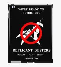 Blade Runner Ghostbuster spoof iPad Case/Skin