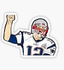 Tom Brady Sticker