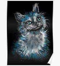 Verträumte Katze Poster