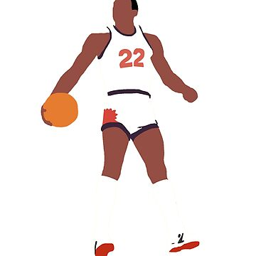 Larry Nance sr. Slam Dunk 1984 vector art by Mandalorian3
