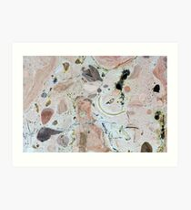 Limestone Art Print
