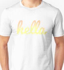hella letters Unisex T-Shirt