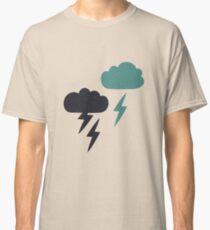 Pattern with lightning rain Classic T-Shirt