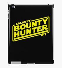 Galaxy's #1 Bounty Hunter iPad Case/Skin
