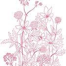 Light spring meadow flowers by Linn Warme