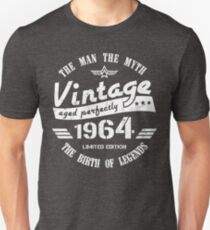 Vintage 1964 - 54th Birthday Gift For Men Unisex T-Shirt