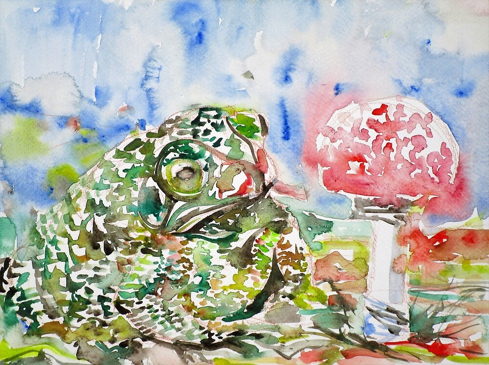 TOAD and MUSHROOM 1 by lautir