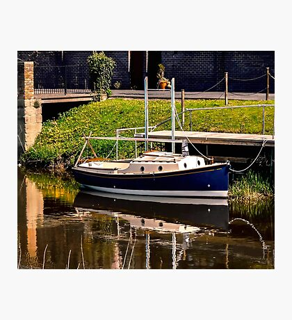 Little River Boat. Photographic Print
