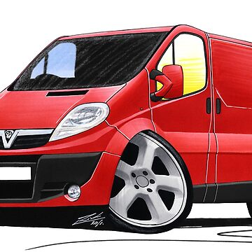 Vauxhall Vivaro Royal Mail Van by yeomanscarart