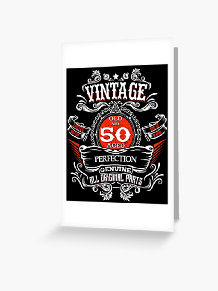2fe45e6ba1 Vintage 50th Birthday 1968 50 Years Old Gift T-shirt