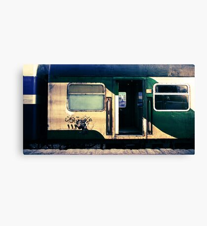 night train to cairo Canvas Print