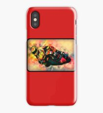 MOTOCYCLE BIKER iPhone Case/Skin