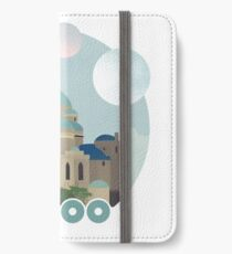 Naboo Retro Travel Poster iPhone Wallet/Case/Skin