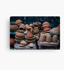 Ceramics  Canvas Print