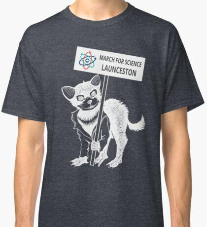 March for Science Launceston – Tassie Devil, white Classic T-Shirt