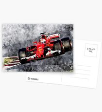 Sebastian Vettel Postkarten