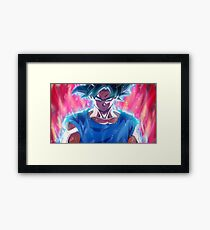 Goku - Ultra Instinct Framed Print