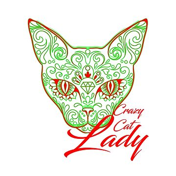 Crazy Cat Lady Shirt by Flaudermoon