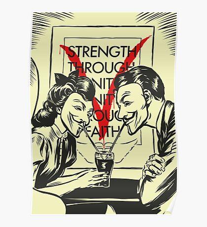 V for Valentine Poster
