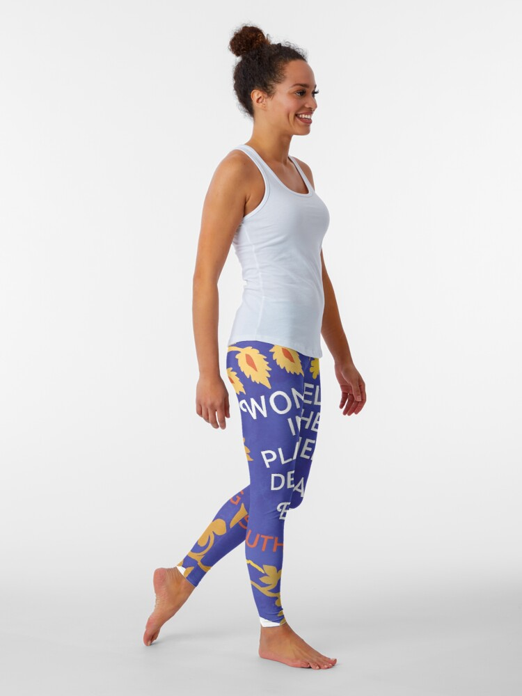 Alternate view of Women Belong In All The Places Where Decisions Are Being Made, Ruth Bader Ginsburg Leggings