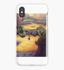 Terrene Odyssey - Scoops McGee and Johnny Donuts iPhone Case/Skin