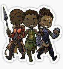 Panther Trio Sticker