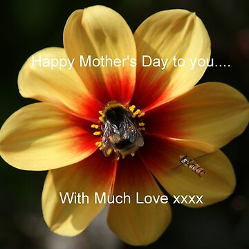 Happy Mother's Day, With Much Love by SandraCockayne