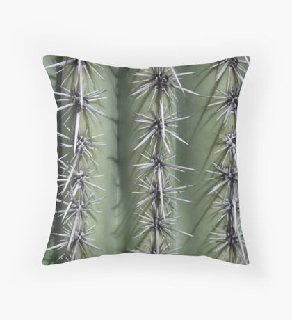 Shadows and Thorns Throw Pillow