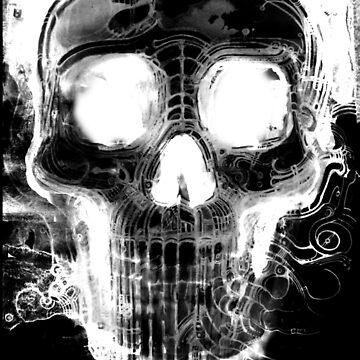 Skull 1 (Cyber Skull) by Mudda