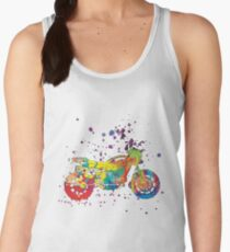 Motorcycle ap127-6 Women's Tank Top