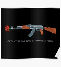 This Is Not A Rifle Grenade Poster