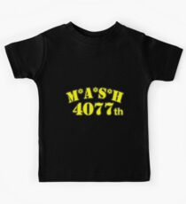 MASH 4077th classic TV Kids Tee