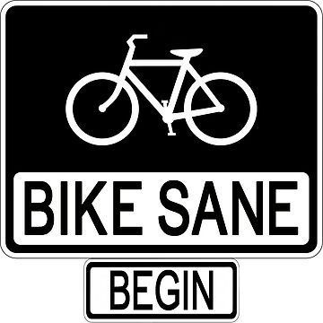 Bike Sane by keovek