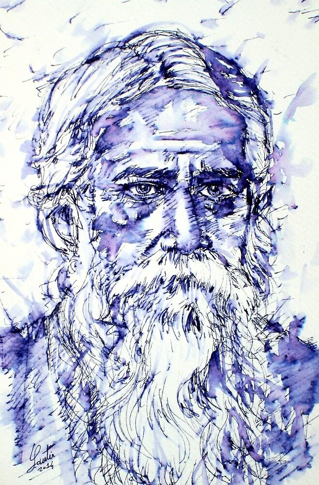 TAGORE portrait by lautir