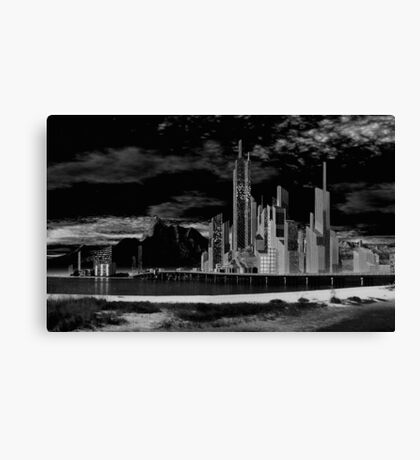 City for Sale Canvas Print