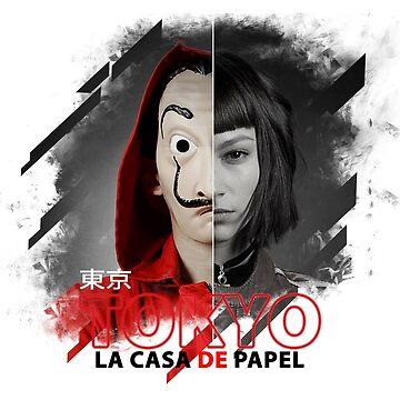 PAPEL TOKYO CASA - PAPEL TV LACASA - The papel casa TV series by Theworrior