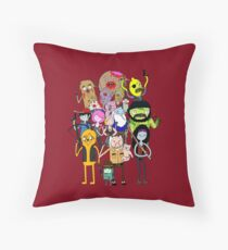 The Walking Dead Time: Bloody Edition Throw Pillow