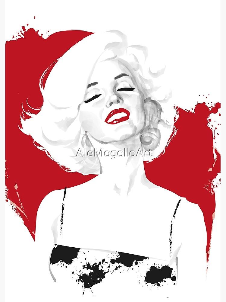 Marilyn Test by AleMogolloArt