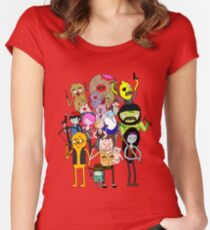The Walking Dead Time: Bloody Edition Women's Fitted Scoop T-Shirt