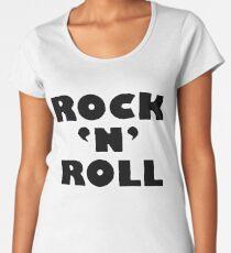 Rock 'N' Roll - LG Women's Premium T-Shirt