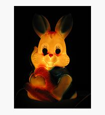 Killer Bunny Photographic Print