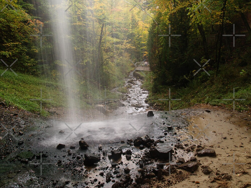 Munising Falls by Megan Noble
