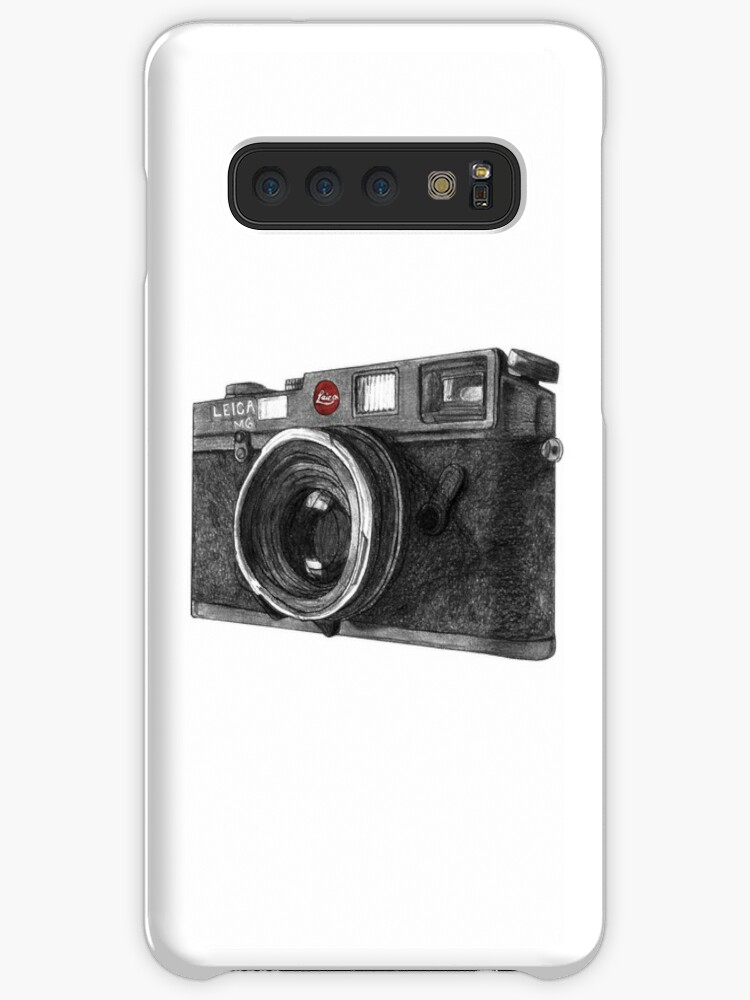 'Leica M6 Camera Sketch' Case/Skin for Samsung Galaxy by Derek Michael  Brennan