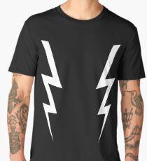 Awesome Double White Boosh Lightning Bolts Men's Premium T-Shirt