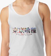 Camiseta de tirantes Logotipo de Tokyo Ghoul Color Splash